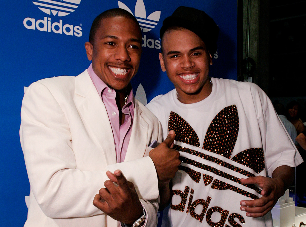 Nick Cannon, Chris Brown