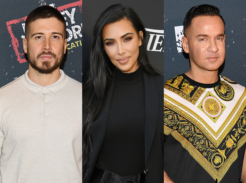 Vinny Guadagnino, Kim Kardashian, Mike The Situation Sorrentino