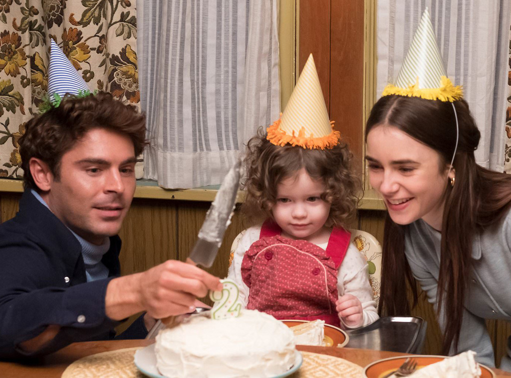 Zac Efron, Lily Collins, Ted Bundy, Extremely Wicked Shockingly Evil and Vile