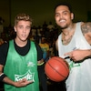 Justin Bieber, Chris Brown