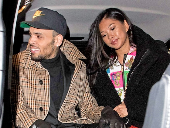 Chris Brown's Rumored Girlfriend Sticks By His Side Amid Rape Allegation