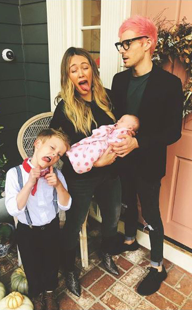 Hilary Duff, Banks, Luca, Matthew Koma