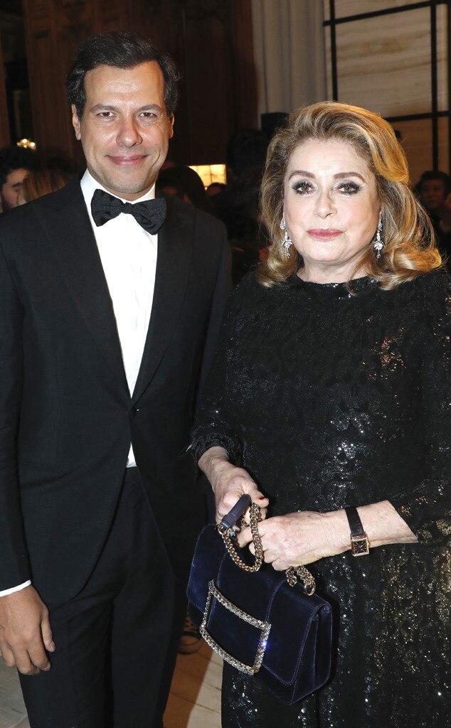 Laurent Lafitte & Catherine Deneuve -  Attended theBoucheron dinner on Jan. 20, 2019.