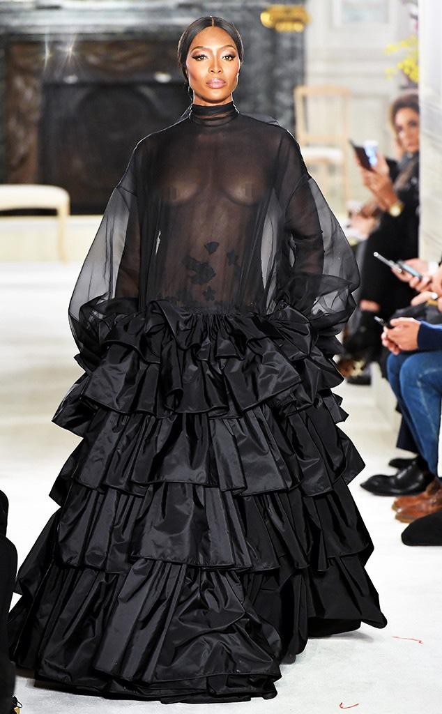 Naomi Campbell, 2019 Paris Fashion Week, Valentino