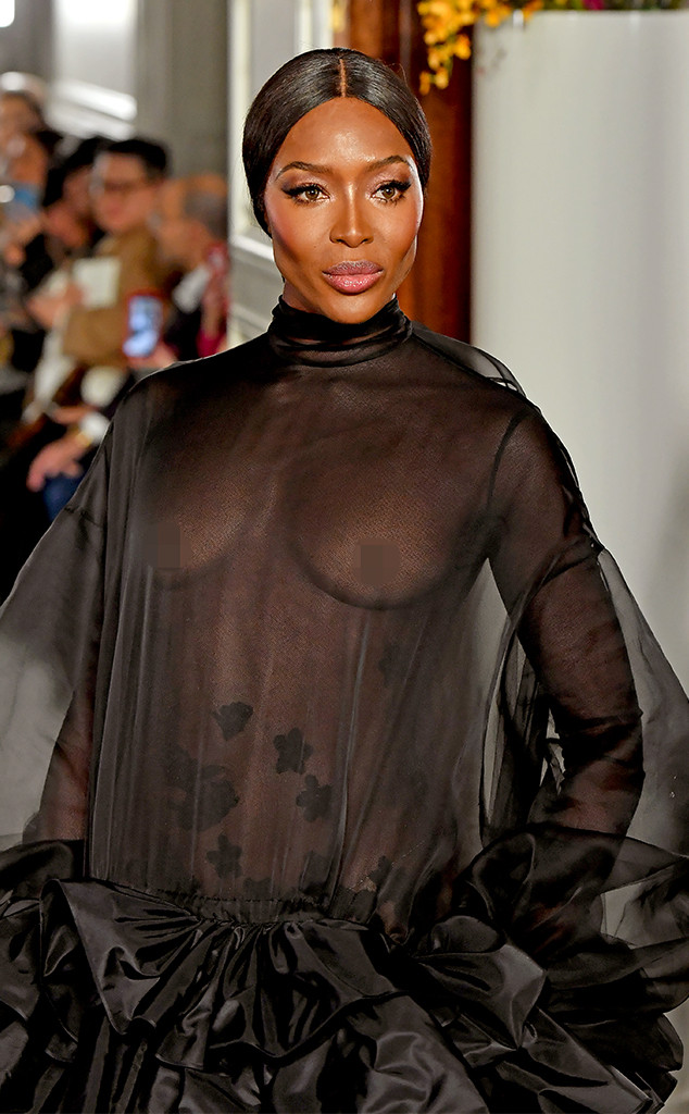 Naomi Campbell, 2019 Paris Fashion Week, Valentino