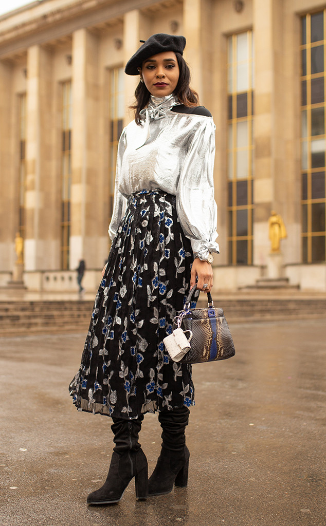 Paris Fashion Week, Street style
