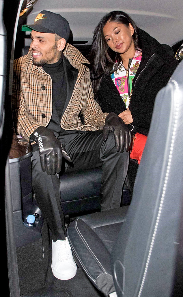 Chris Brown and Rumored Girlfriend Step Out Amid Rape