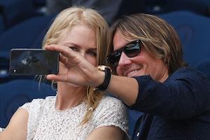Nicole Kidman, Keith Urban, Australian Open 2019
