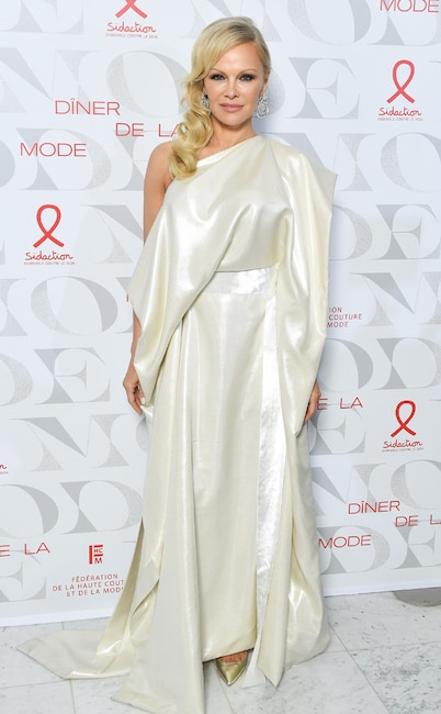 Fashion Week After Party, Pamela Anderson