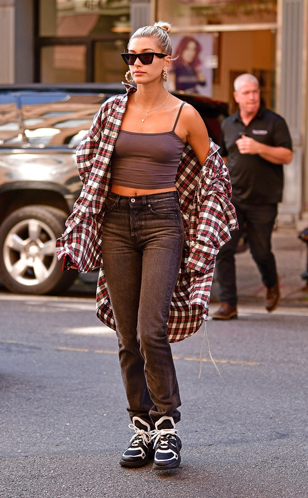 Casual Outting -  The model kept is casual as she was seen out and about in New York City.