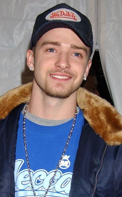 Justin Timberlake, Embarrassing fashion trends, Von Dutch