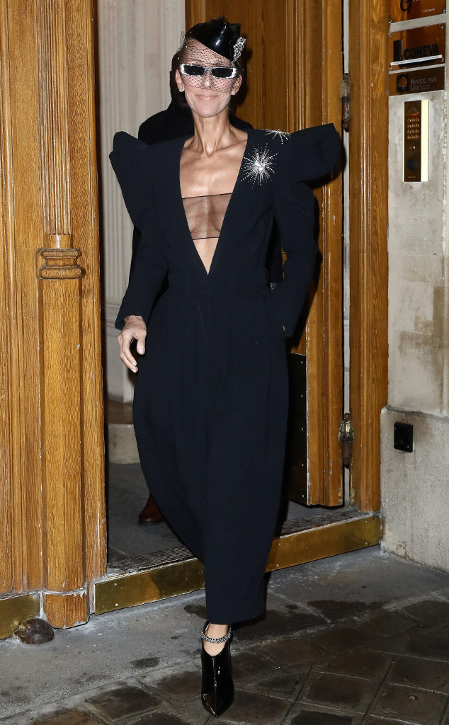 Celine Dion, 2019 Paris Fashion Week
