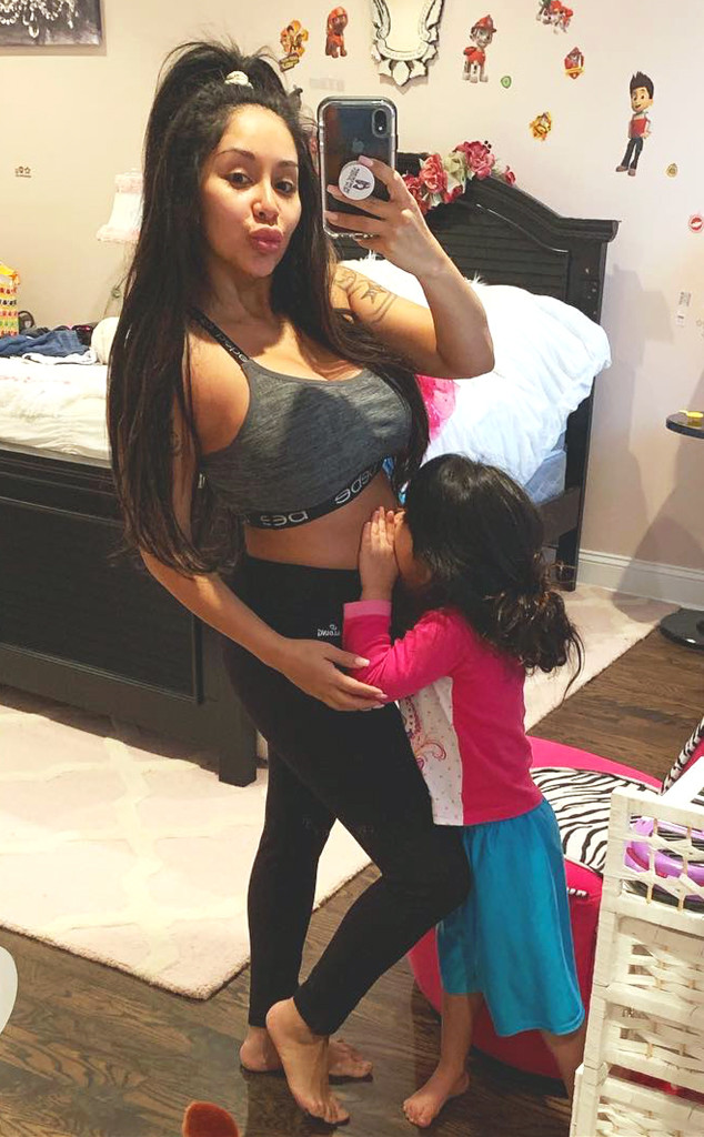 Nicole Polizzi, Snooki, pregnancy, Instagram