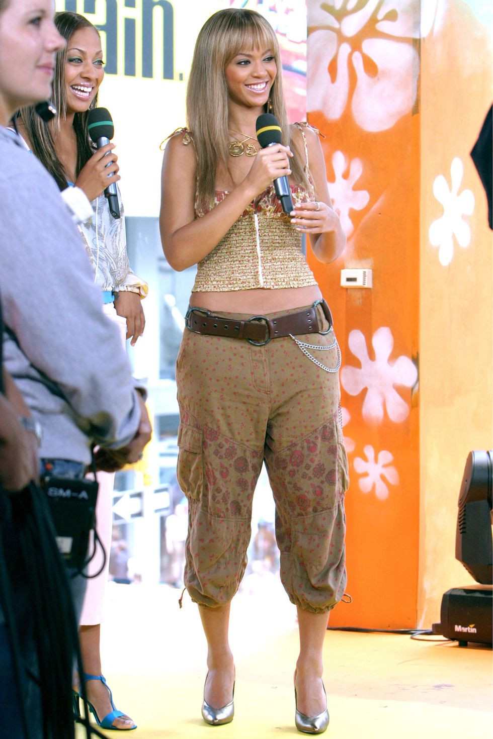 Beyonce, Embarrassing fashion trends, Cropped Pants