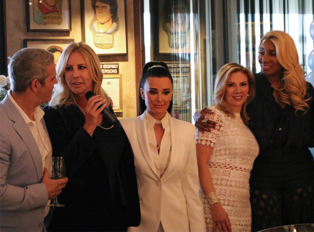 Andy Cohen baby shower, Vicki Gunvalson, Kyle Richards, Ramona Singer, Nene Leakes