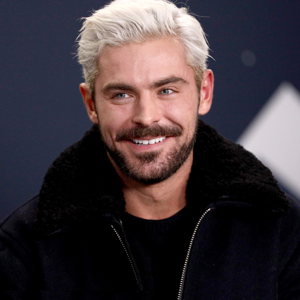 Lets Talk About How Zac Efron Is Really Blonde Now
