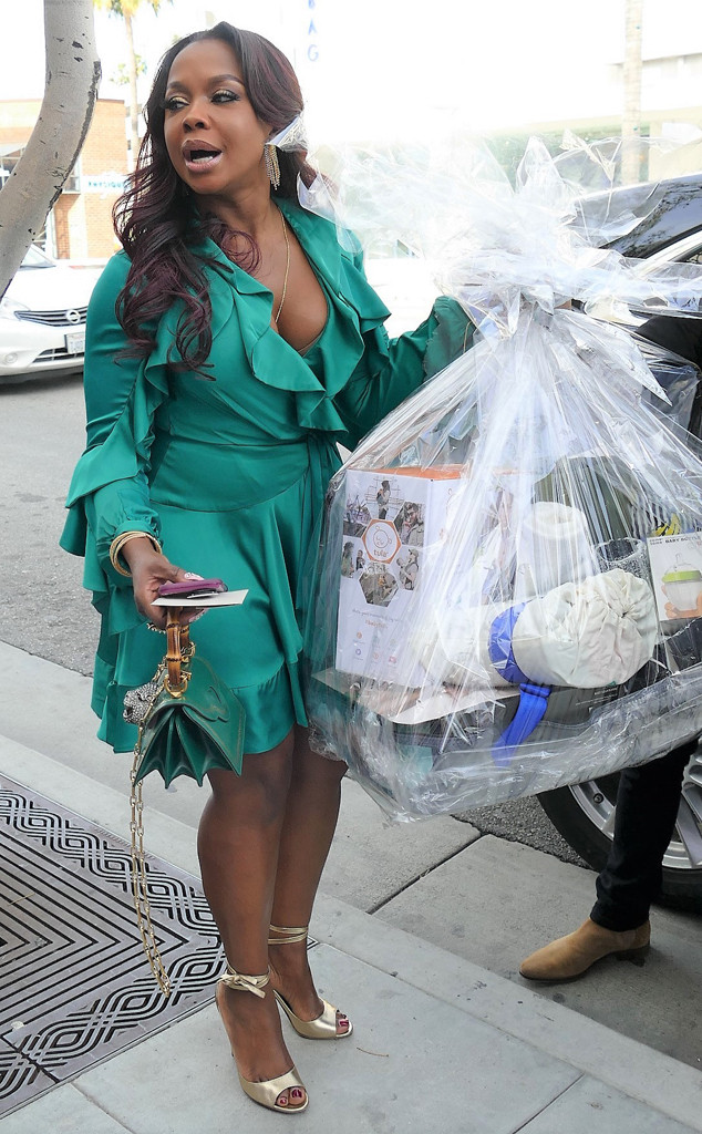 Phaedra Parks, Andy Cohen baby shower