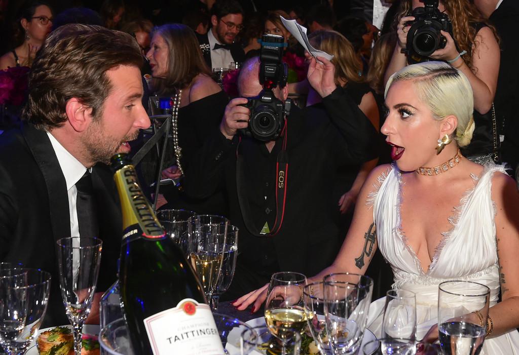 Bradley Cooper, Lady Gaga, 2019 SAG Awards