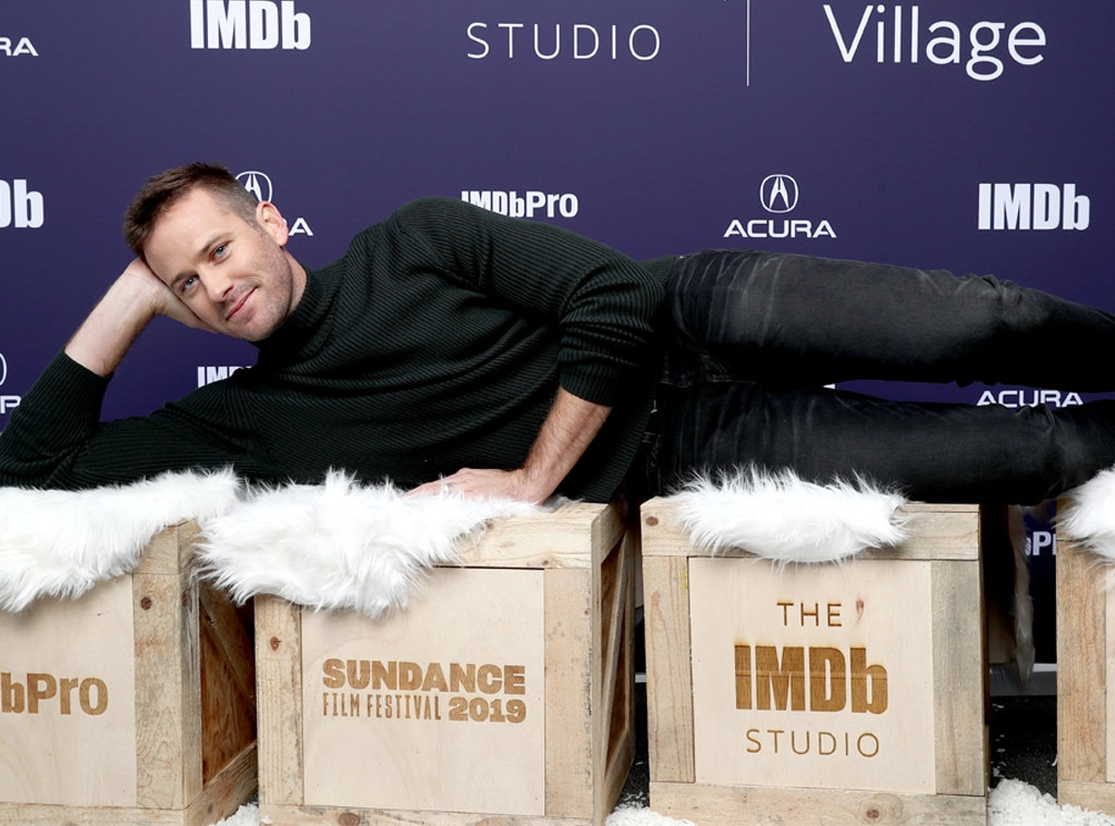 Armie Hammer, 2019 Sundance Film Festival
