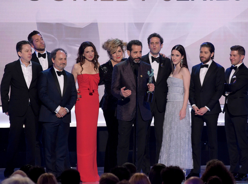 The Marvelous Mrs. Maisel Cast, 2019 SAG Awards, Winners