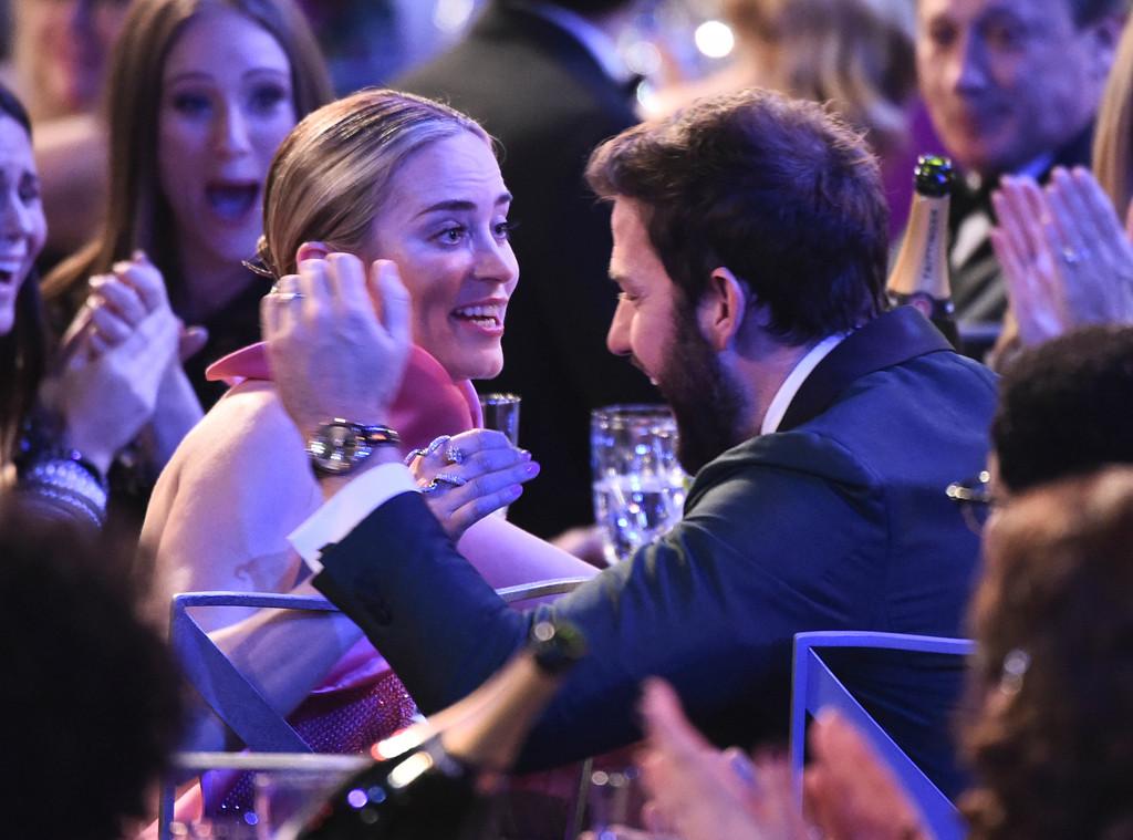 Emily Blunt, John Krasinski, 2019 SAG Awards, Show, Candids