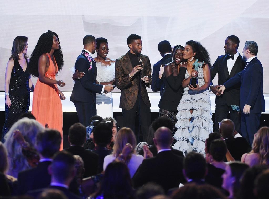 Black Panther Cast, 2019 SAG Awards, Winners
