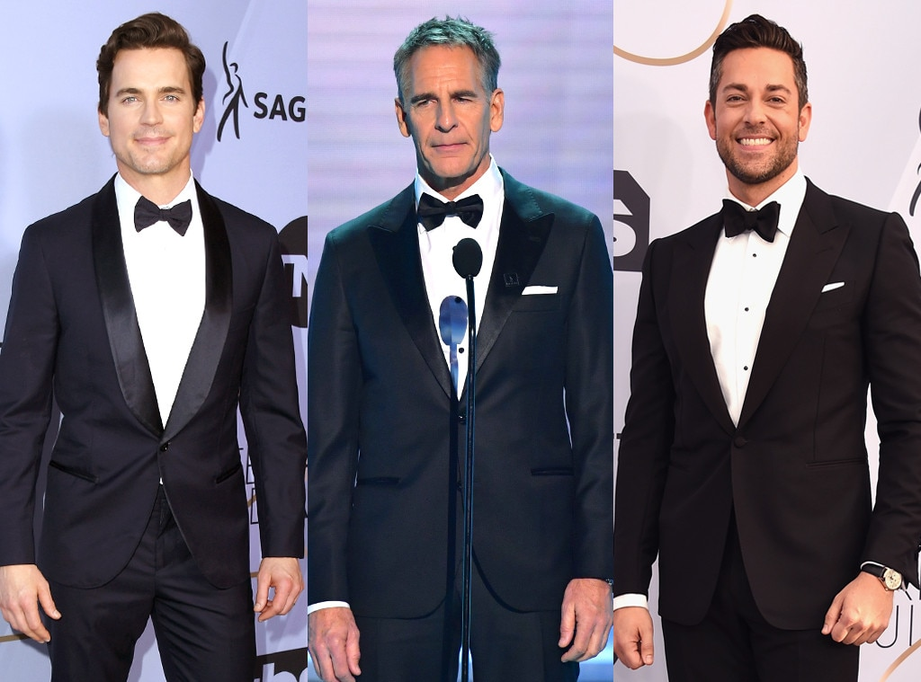 Zachary Levi, Matt Bomer & Scott Bakula -  All these  Chuck  actors were in attendance at the SAG Awards. Is it too much to ask for a cast photo?