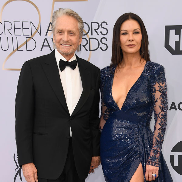Michael Douglas, Catherine Zeta-Jones, Couples, 2019 SAG Awards