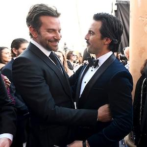 Bradley Cooper, Milo Ventimiglia, 2019 SAG Awards