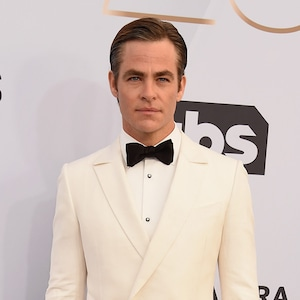 Chris Pine, 2019 SAG Awards, Red Carpet Fashions