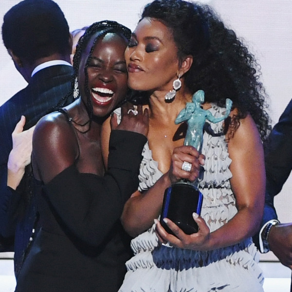"""Chadwick Boseman Celebrates Being """"Young, Gifted and Black"""" as Black Panther Wins Big at the 2019 SAG Awards"""