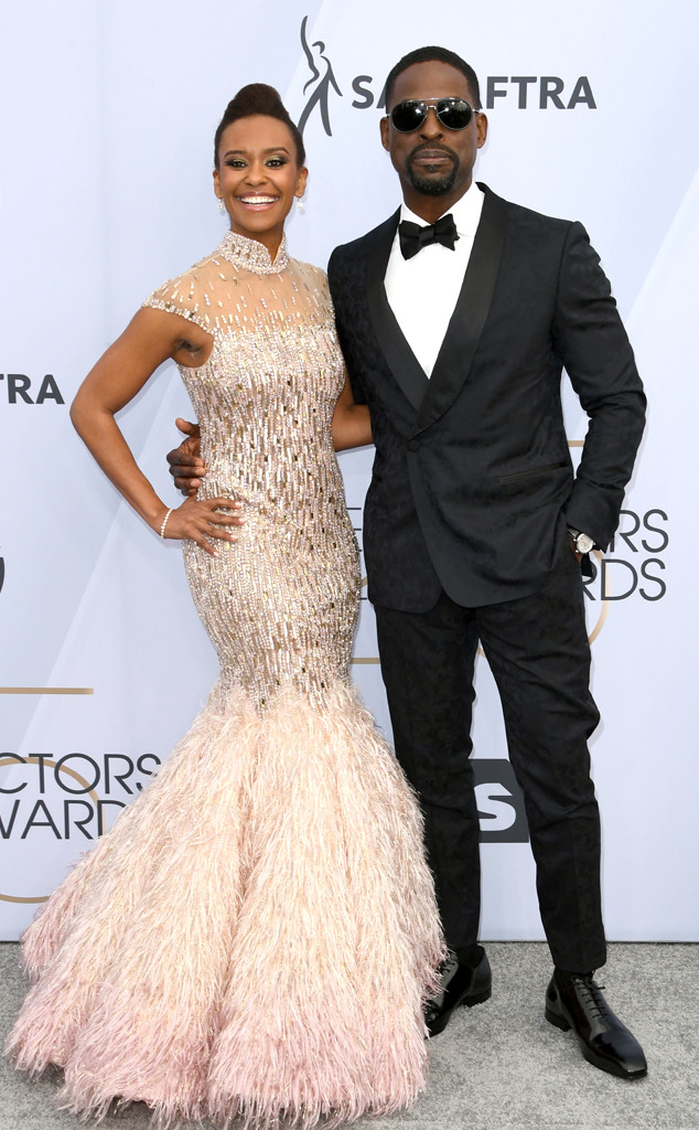 Ryan Michelle Bathe, Sterling K. Brown, Couples, SAG Awards 2019