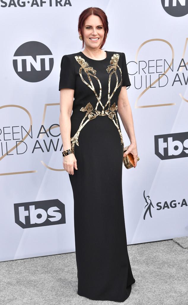 Megan Mullally, 2019 SAG Awards, Screen Actors Guild, Red Carpet Fashions