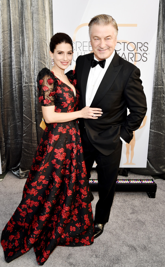 Hilaria Baldwin, Alec Baldwin, Couples, 2019 SAG Awards, Screen Actors Guild