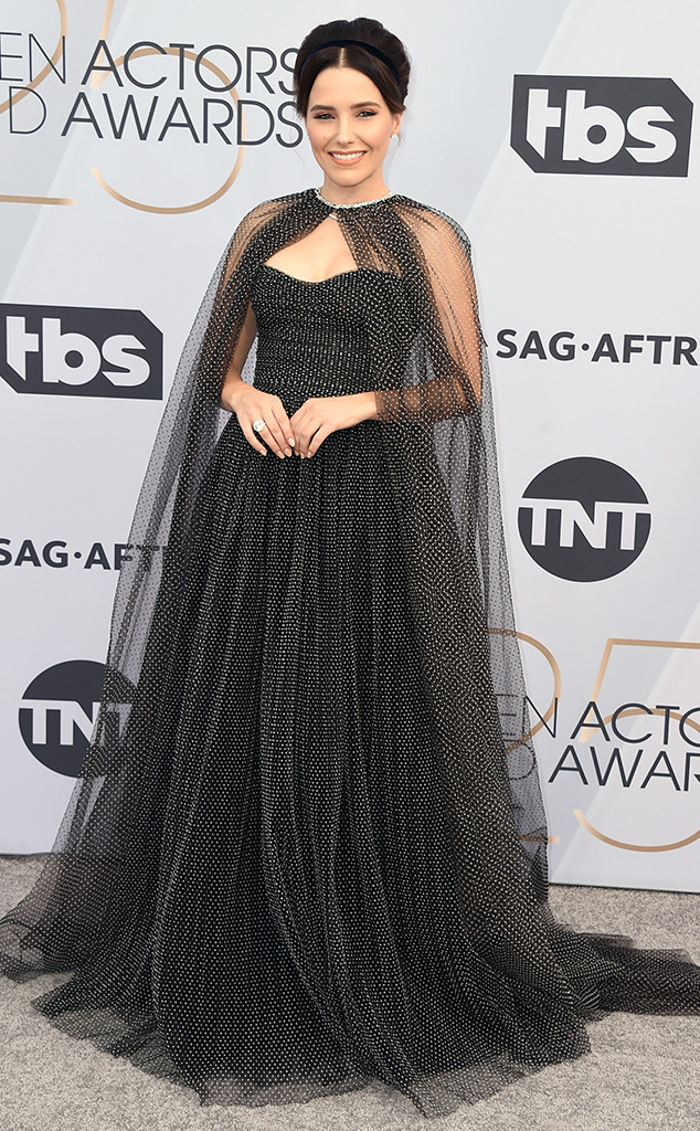 Sophia Bush, 2019 SAG Awards, Screen Actors Guild, Red Carpet Fashions