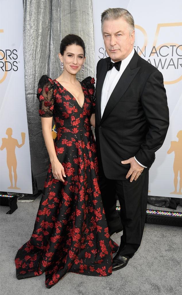 Alec Baldwin, Hilaria Baldwin, Couples, 2019 SAG Awards, Screen Actors Guild
