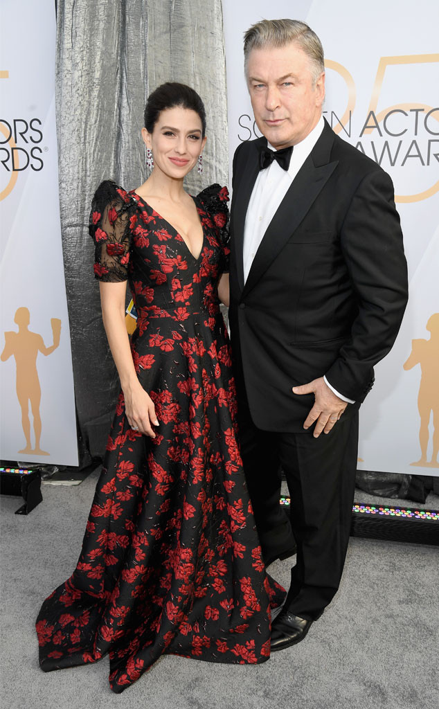 Alec Baldwin, Hilaria Baldwin, Couples, 2019 SAG Awards, Screen Actors Guild