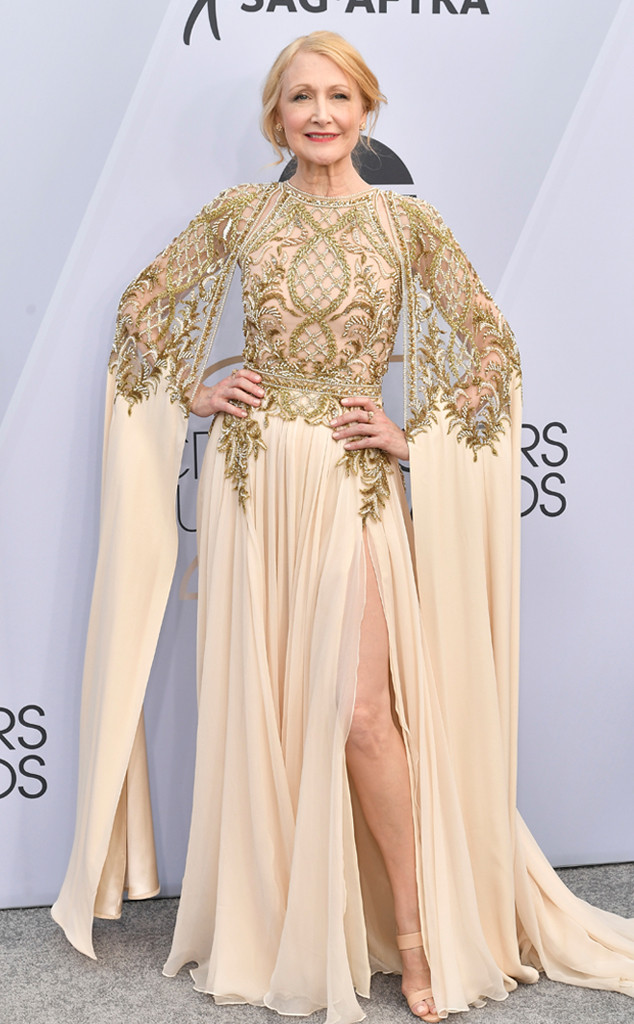 Patricia Clarkson, 2019 SAG Awards, Red Carpet Fashions