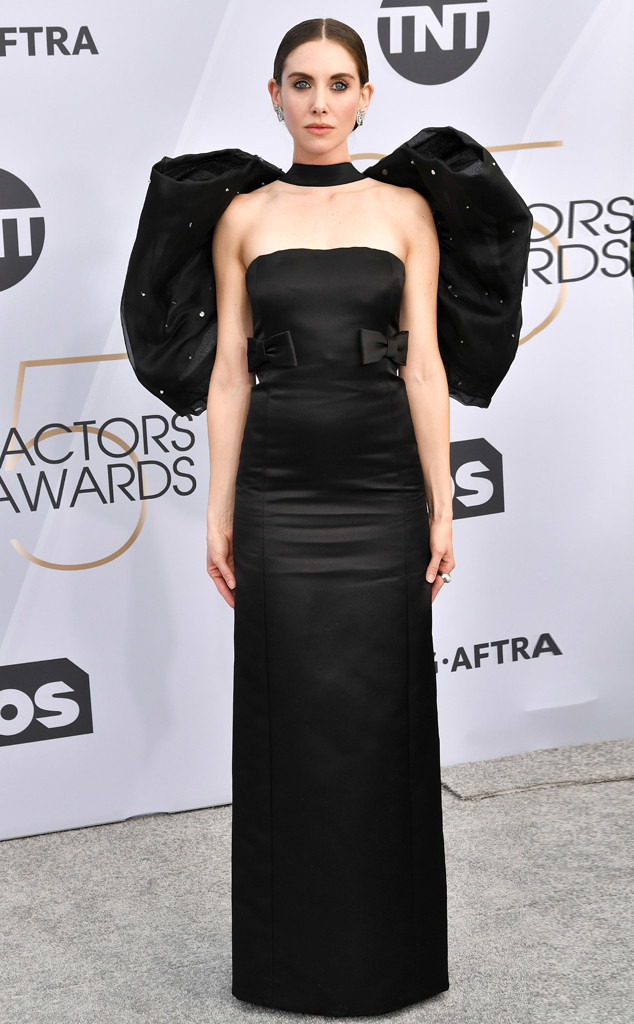 Alison Brie, 2019 SAG Awards, Red Carpet Fashions