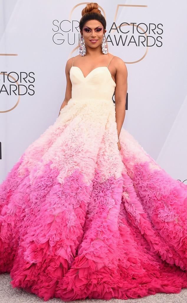 Image result for sag awards 2019 dress Shangela