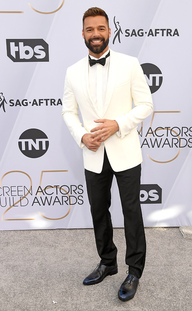 Ricky Martin, 2019 SAG Awards, Screen Actors Guild, Red Carpet Fashions