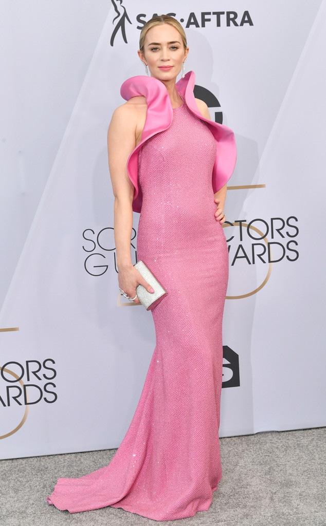 Emily Blunt, 2019 SAG Awards, Red Carpet Fashions