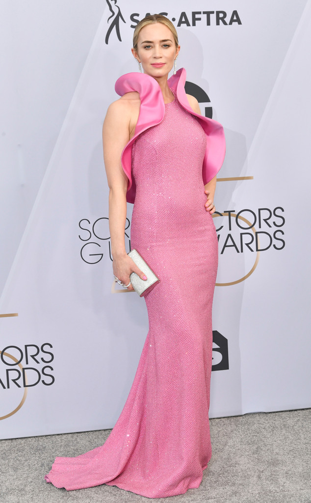 Emily Blunt, 2019 SAG Awards, Red Carpet Fashions
