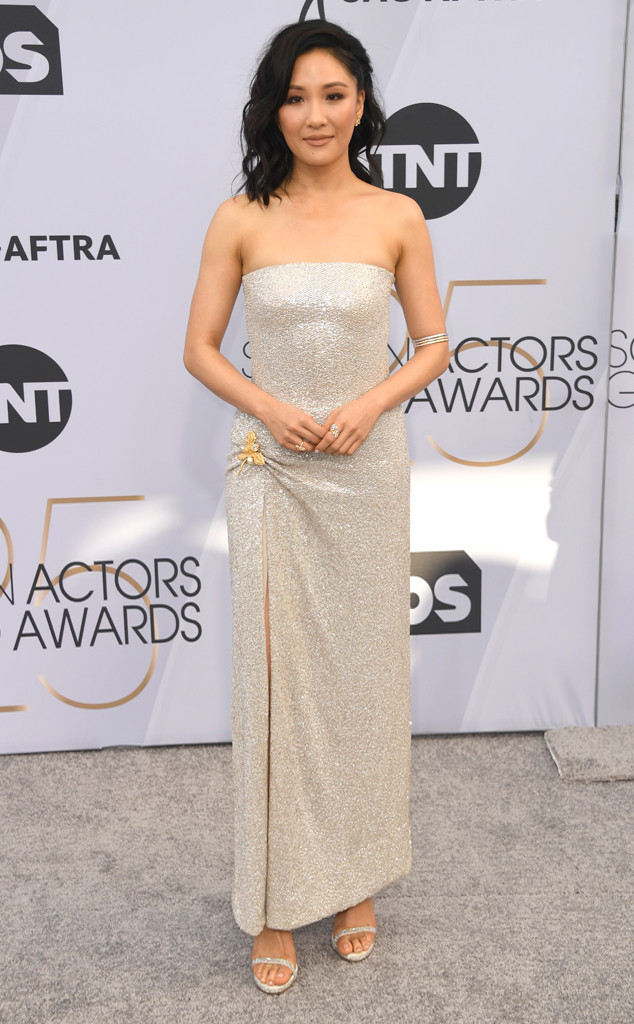 Constance Wu, 2019 SAG Awards, Red Carpet Fashions