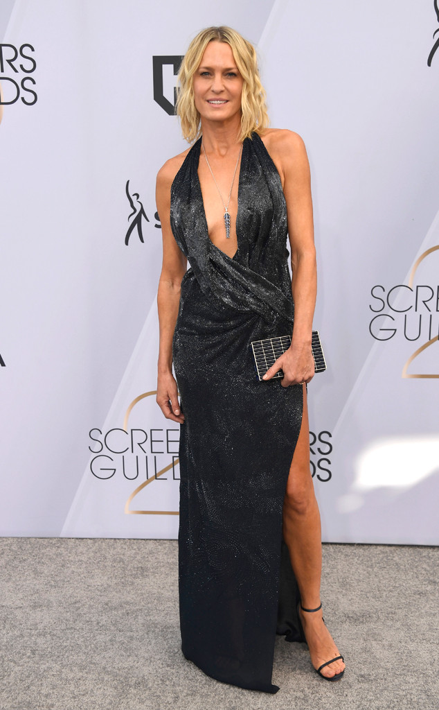 Robin Wright, 2019 SAG Awards, Screen Actors Guild, Red Carpet Fashions