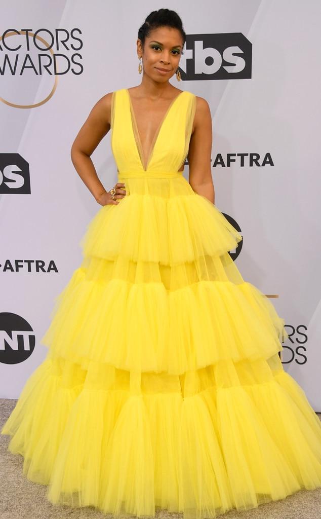 Susan Kelechi Watson, 2019 SAG Awards, Red Carpet Fashions