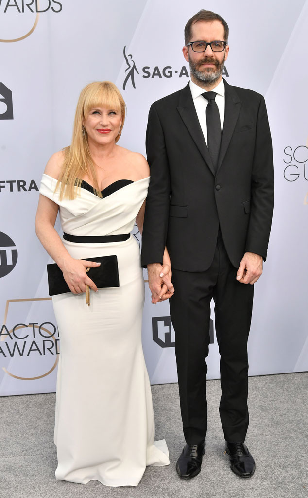 Patricia Arquette, Eric White, Couples, 2019 SAG Awards, Screen Actors Guild