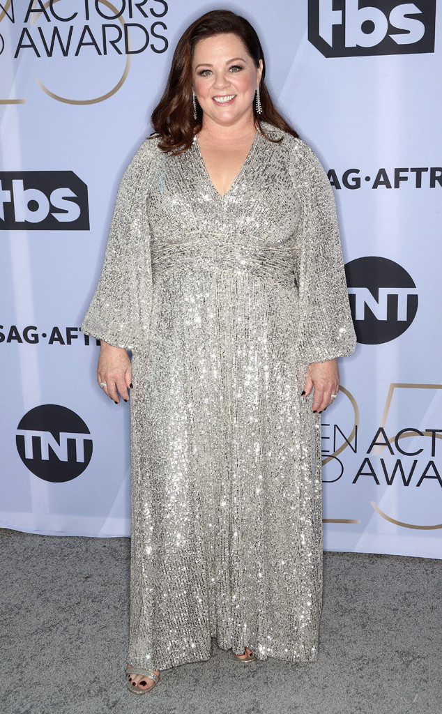 Melissa McCarthy, 2019 SAG Awards, Screen Actors Guild, Red Carpet Fashions