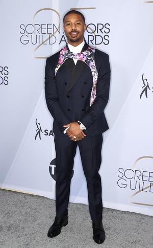 Michael B. Jordan, 2019 SAG Awards, Red Carpet Fashions