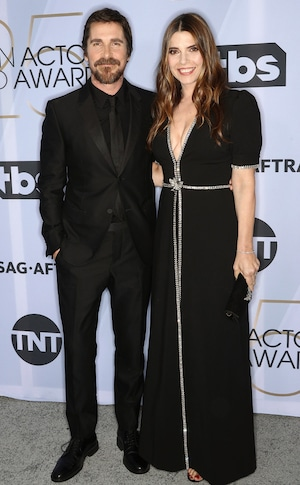 Christian Bale, Sibi Blazic, Couples, 2019 SAG Awards, Screen Actors Guild